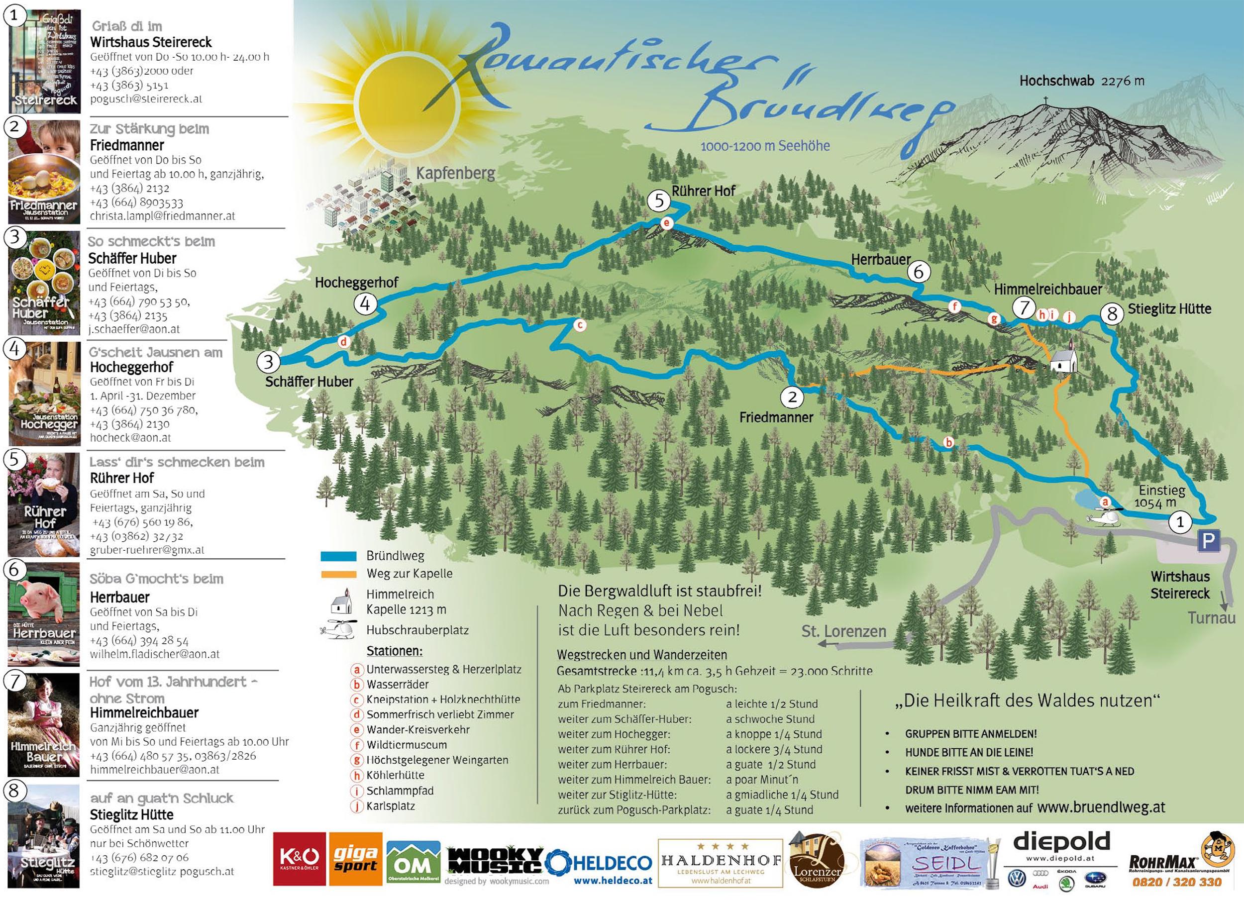 Lechweg Karte.Karte